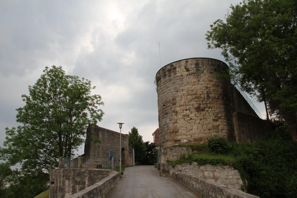Auffahrt Schloss Ebersberg