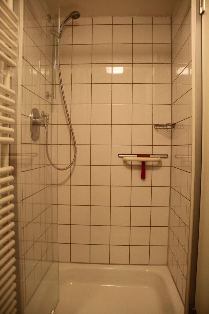 Dusche Dachgeschoss Schloss Ebersberg