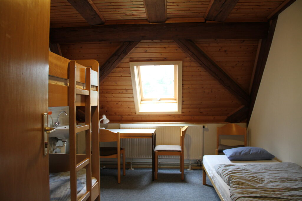 Zimmer 2 Dachgeschoss Schloss Ebersberg