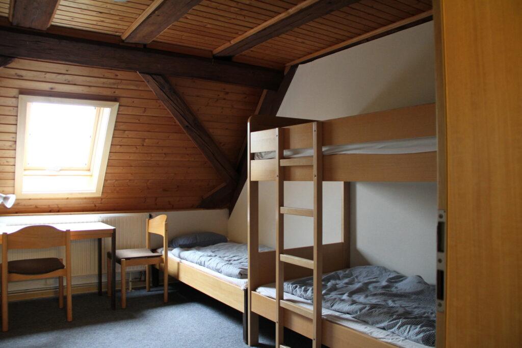 Zimmer 3 Dachgeschoss Schloss Ebersberg