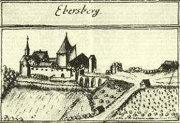Historische Ansicht Schloss Ebersberg