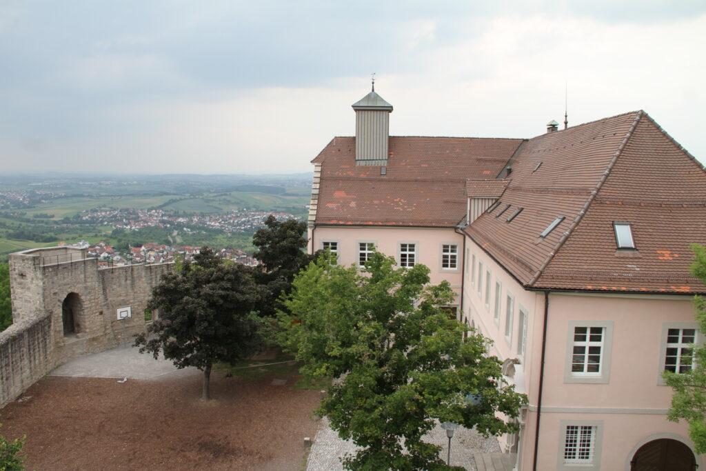 Schloss Ebersberg, Blick vom Turm