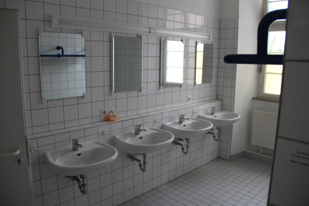 Waschraum Obergeschoss Schloss Ebersberg