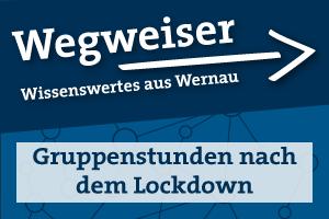Wegweiser: Gruppenstunden nach dem Lockdown
